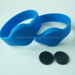 RFID Silicone Wristbands for Access Control pictures & photos