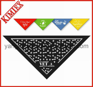 100% Cotton Printed Triangle Pet Dog Bandana pictures & photos