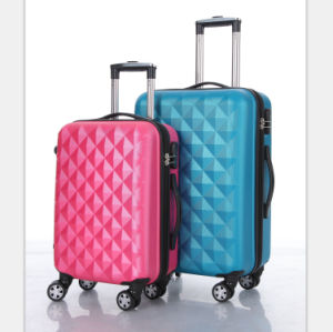 ABS PC Hard Shell Cabin Aluminum Luggage pictures & photos