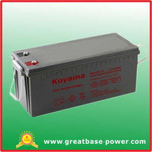 Gel Battery 180AMP 12V pictures & photos