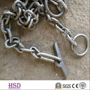 E. Galvanized (DIN763/DIN764/DIN5685) DIN766 Short Link Chain with Factory Certificate pictures & photos