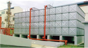 Hot Pressed Galvanized Drinking Water Storage Tank with ISO Certificates