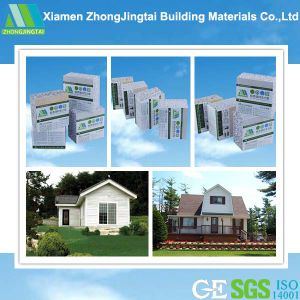 Fireproof Acoustic Roof EPS Sandwich Panel for Prefab House pictures & photos