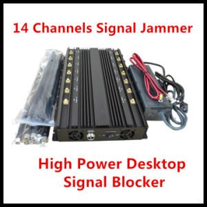12 Bands Smart GPS Jammer/WiFi Jammer /4G Signal Jammer/Blocker pictures & photos