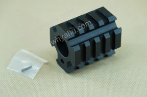 Ar15.750 Quadrail Clamp on Gas Block Low Profile Hunting