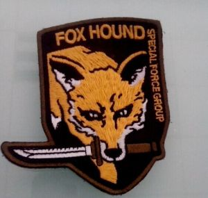 Wolf Image Gold Embroidery Badge Irregular Patch (GZHY-PATCH-004) pictures & photos