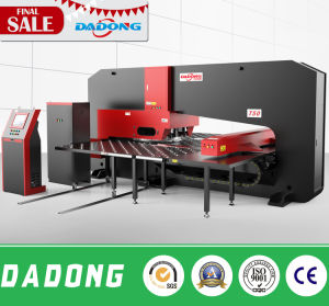 Special Heavy Steel Plate Hydraulic CNC Punching Machine Price From Dadong pictures & photos