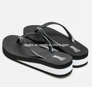 High Heel Ladies′ Sandal Flip Flops pictures & photos