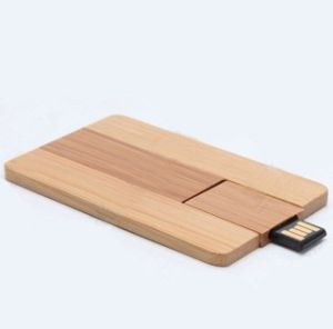 Wood Card USB Flash Drive (TF-0324) pictures & photos