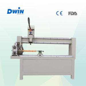 Rotary CNC Router for Cylinders Cheap Price (DW1200) pictures & photos