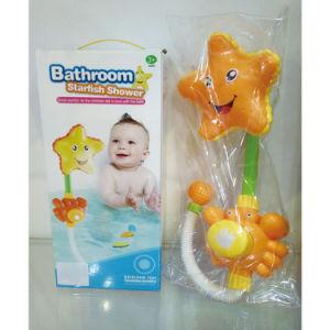 Plastic Star Fish Kids Bathroom Sprinkler Shower Toy