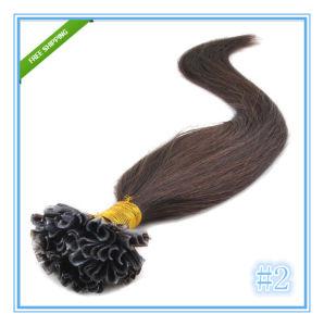 Italian Keratin U Tip Remy Human Hair Extensions pictures & photos