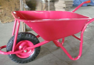 Hot Selling! Pink Color Wheelbarrow Wb5009 for Egyptian Market pictures & photos
