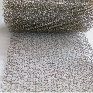 Food Grade Gas-Liquid Filter Knitted Wire Mesh, Gas and Liquid Filter Knitted Wire Mesh pictures & photos