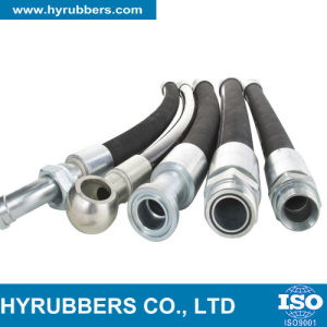 SAE 100r2 High Pressure Flexible Rubber Hydraulic Hose, Industrial Hose pictures & photos