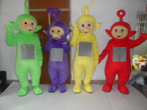 Hi En71 Teletubbies Adult Costume