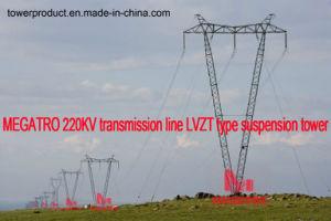 Megatro 220kv Transmission Line Lvzt Type Suspension Tower pictures & photos