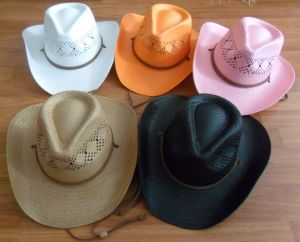 toyo paper straw cowboy hat pictures & photos