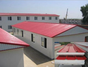 Eco-Friendly EPS Sandwich Roof Tile /Roof Panel/Roof Plate, Thickness 50mm/75mm/100mm/120mm pictures & photos