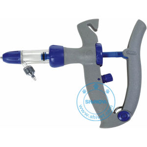 Plastic Steel Continuous Syringe (with tubing) (SY107) pictures & photos
