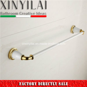 Luxury Design-5192A Gold Chrome Brass Towel Bar for Bathroom Accessories pictures & photos