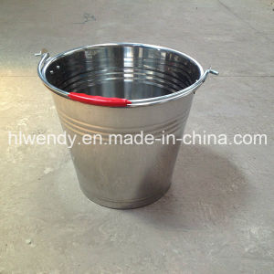 Small Metal Milk Pails Without Lid pictures & photos