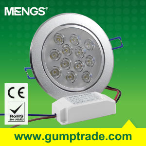 Mengs® 12W LED Downlight LED Light with CE RoHS 2 Years′ Warranty (110300005)
