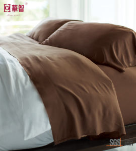 Bamboo Fiber Viscose Bedsheet Sets pictures & photos