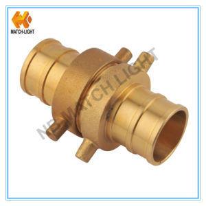 Brass American Nh Fire Fittings Hose Couplings pictures & photos