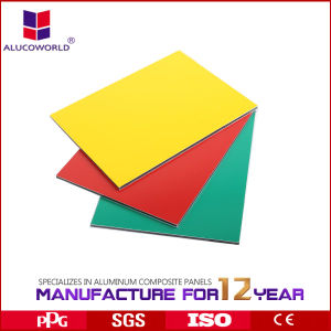 Alucoworld Hot Sale PVDF Aluminum Composite Panel pictures & photos