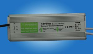 60W Waterproof Constant Voltage LED Driver with Pfc (GPE-WLD-60V) pictures & photos