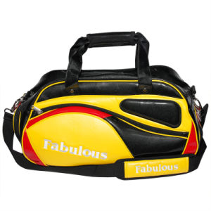 Gloss PU Golf Boston Bag for Man pictures & photos