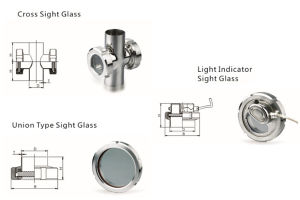 Sanitary Stainless Steel Sight Glass pictures & photos