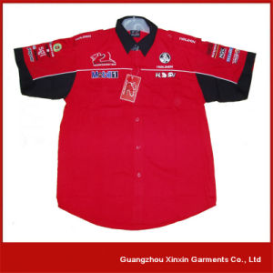 Customized Short Sleeve 4s Shop Workers Shirts (S30) pictures & photos