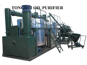Black Diesel Engine Oil Treatment System/ Waste Oil Recycling Equipment
