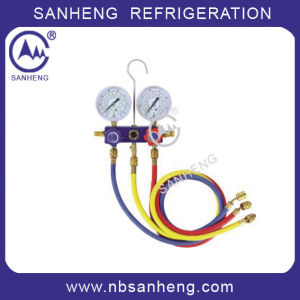 Manifold Gauge for Refrigeration Parts (Sh-M40336) pictures & photos