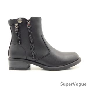 Comfortable Fashion Women Boots/Shoes Lady Boots/Shoes Ankle Boots Horse Boots Zipper pictures & photos