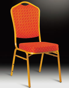 Hot Sale Alimunium Banquet Hotel Chair with Cushion pictures & photos