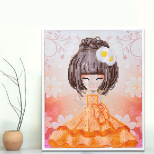 Factory Cheapest Wholesale Children DIY Embroidery Cross Stitch K-002 pictures & photos