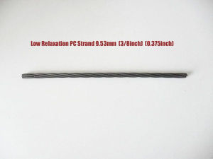 1X7-15.24mm 7 Wire Steel Strand for Prestressed Concrete pictures & photos