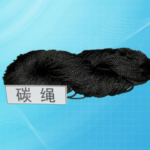 Graphite Rope (cord) Twisted Braided Carbon Fiber Rope