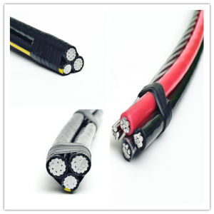 Low Voltage ASTM Standard ABC Cable XLPE Insualted Overhead Aluminum Conductor pictures & photos