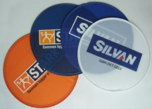 Promotional Outdoor Foldable Nylon Frisbee (3488) pictures & photos