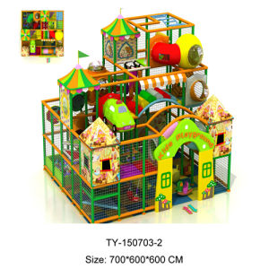 China Used Portable and Cheer Playground Equipment Indoor for Kids (TY-150703-2) pictures & photos