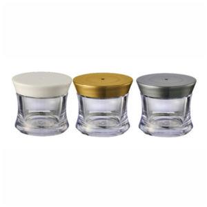 Screw Cap Plastic Jar 25ml Plastic Cosmetic Packaging (NJ86) pictures & photos
