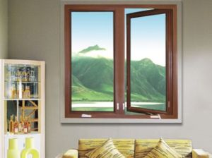 Guangzhou Wooden Casement Tinted Glass Window Frames Designs pictures & photos