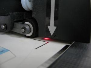 Vinyl Cutting Plotter, Red DOT Syatem pictures & photos