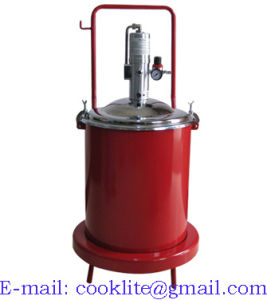High Pressure Pneumatic Grease Pump Air Operated Lubrication Bucket Mobile Greaser - 50L pictures & photos