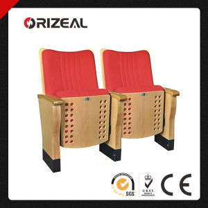 Orizeal Wood Theatre Seats (OZ-AD-006) pictures & photos