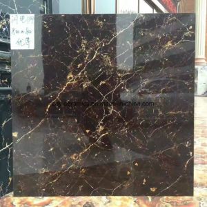 Dark Colour Promotion Polished Stone Tile pictures & photos